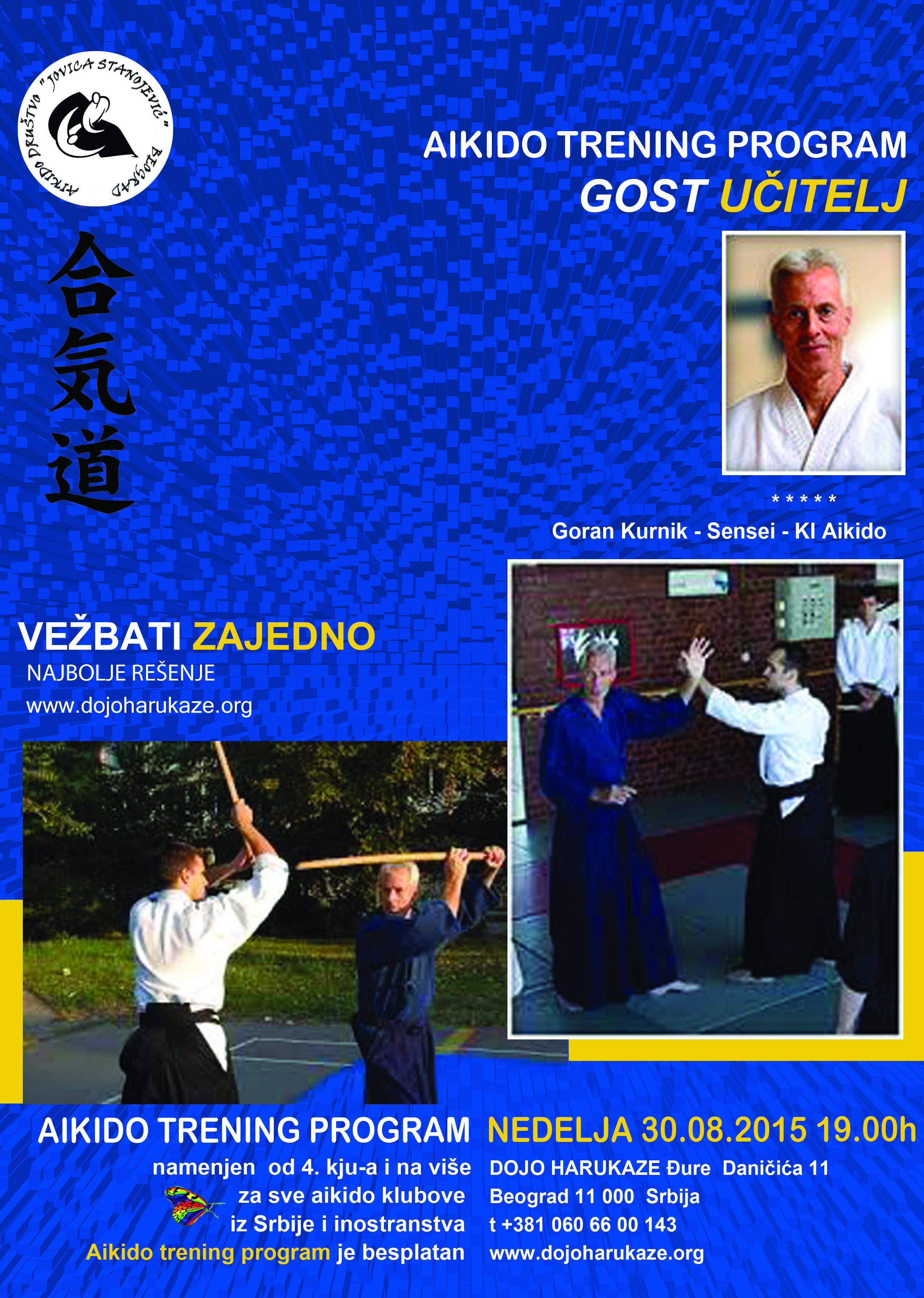 aikido trening prograam avg 2015